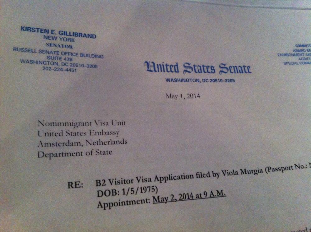 letter senator